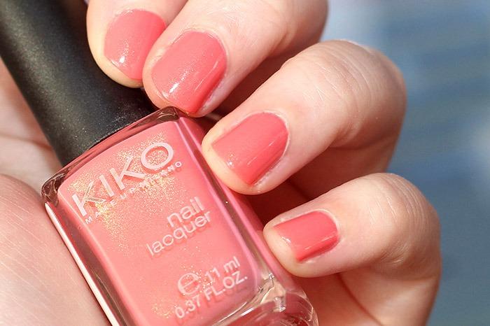 kiko pearly coral rose 485